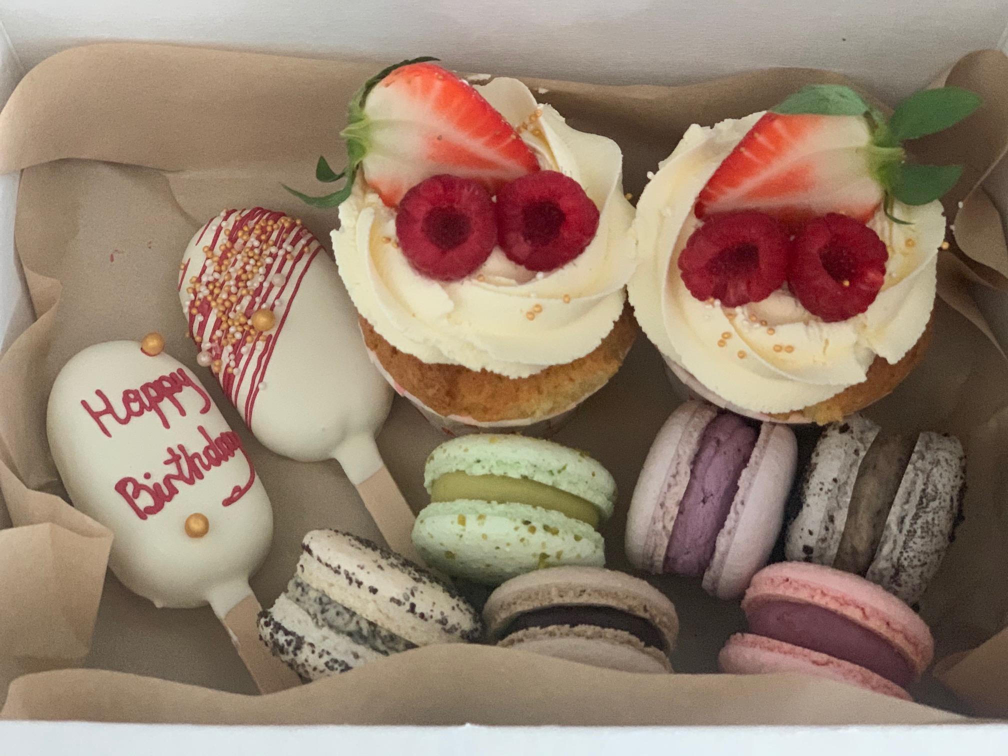 """Kuchen-Box """"Happy Birthday"""""""