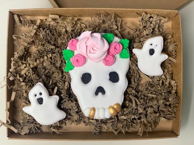 """Halloween Set """"Sugar Skull"""""""