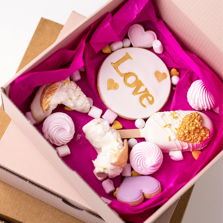 Love Box WEISS mit Glückskeksen - AUSVERKAUFT