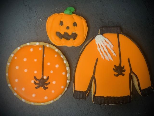 "Halloween Set ""orange"""